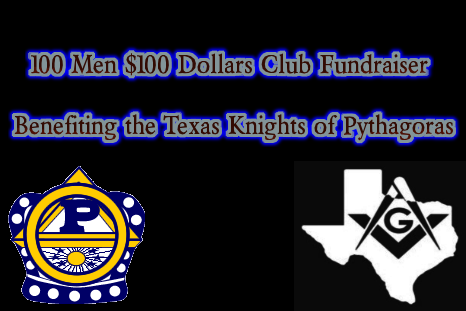 100 Men with $100 Dollars Fundraising Drive