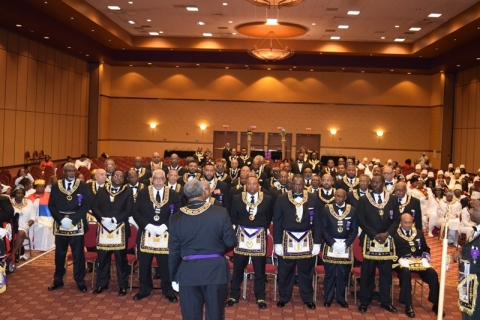 142nd Annual Grand Communication Annual Installations  (23)
