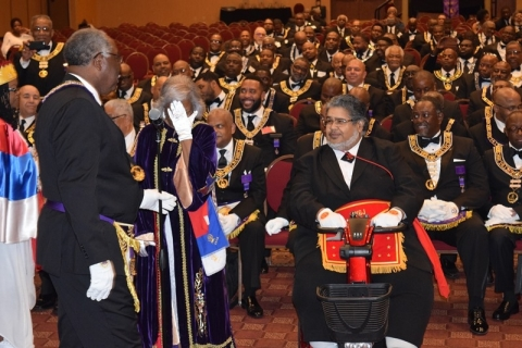 142nd Annual Grand Communication Annual Installations  (27)