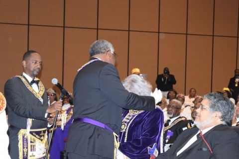 142nd Annual Grand Communication Annual Installations  (28)