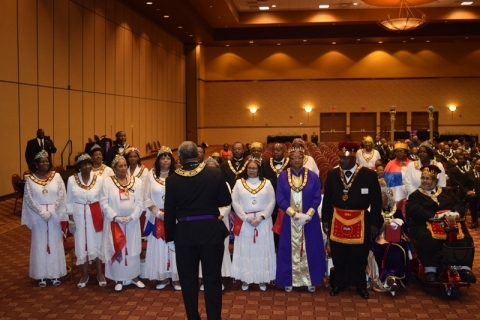 142nd Annual Grand Communication Annual Installations  (35)