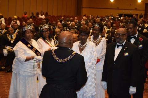 142nd Annual Grand Communication Annual Installations  (45)