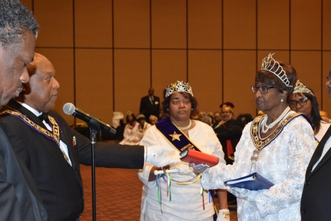 142nd Annual Grand Communication Annual Installations  (51)