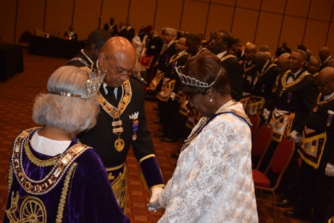 142nd Annual Grand Communication Annual Installations  (64)