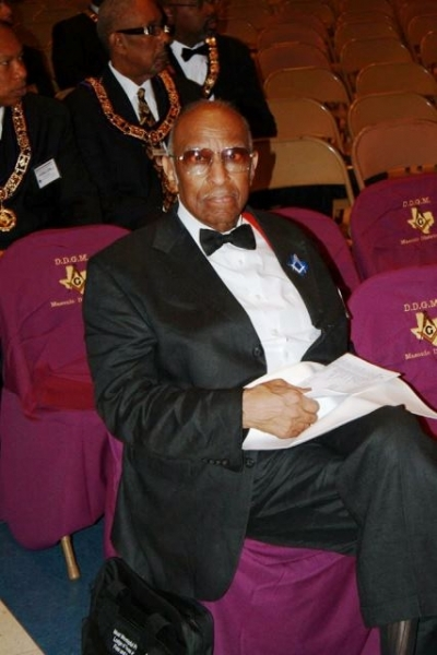 PGM Cash at the Grand Lodge Devotional Period at Most Worshipful Prince Hall Grand Lodge Of Texas.