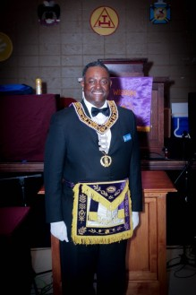 Grand Junior Warden Frank Jackson